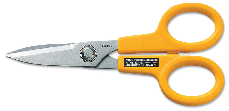 "OLFA 5"" Stainless Steel Scissors (SCS-1)"