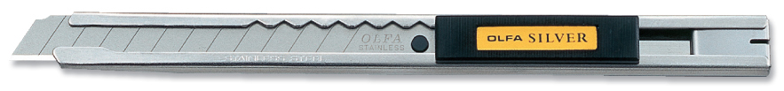 OLFA Stainless Steel Slide Lock Utility Knife (SIL)