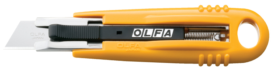 OLFA Self-Retracting Safety Knife (SK-4)