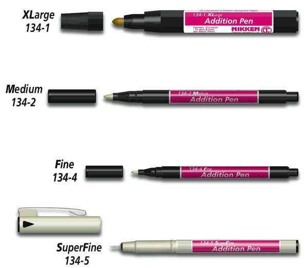 Nikken Universal Addition Pens