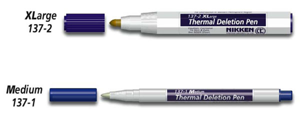 Nikken Thermal Deletion Pens
