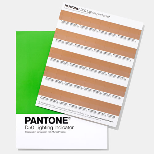 PANTONE Lighting Indicator Stickers - D50