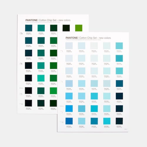 PANTONE Fashion, Home + Interiors Cotton Chip Set Supplement