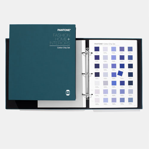 PANTONE Fashion, Home + Interiors Cotton Chip Set