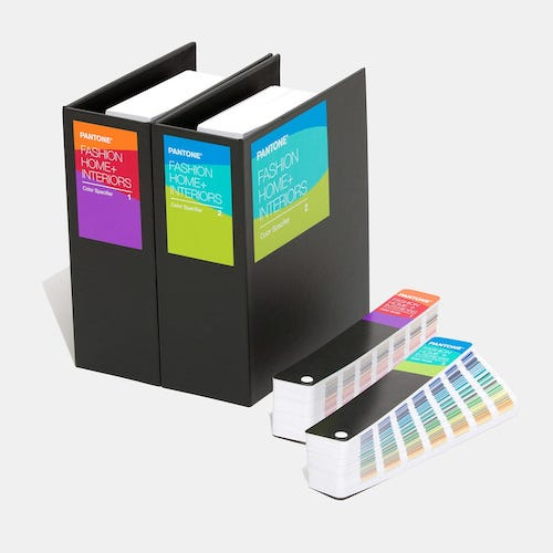 PANTONE Fashion, Home + Interiors Color Specifier and Color Guide Set