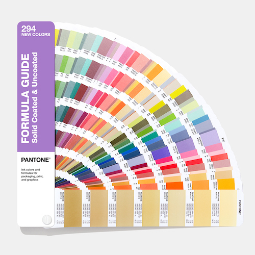 PANTONE Formula Guide Supplement Coated and Uncoated