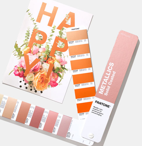 PANTONE Metallic Coated Guide