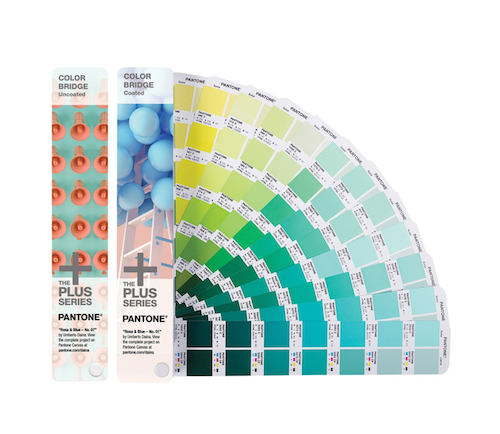 Pantone Plus Color Bridge Set Coated and Uncoated