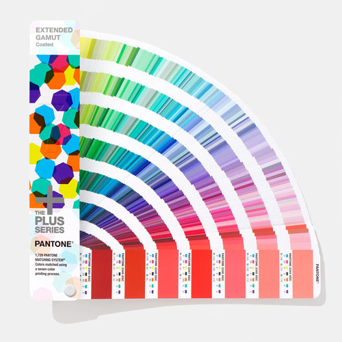 PANTONE Plus Extended Gamut Coated Guide
