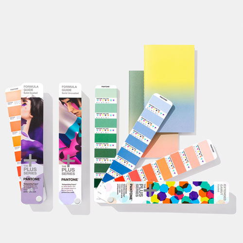 PANTONE Plus Solid-to-Seven Set Extended Gamut