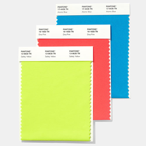 PANTONE Fashion, Home + Interiors Nylon Brights Swatch Card