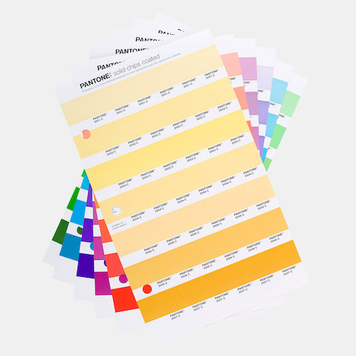 PANTONE Chip Replacement Pages Coated and Uncoated
