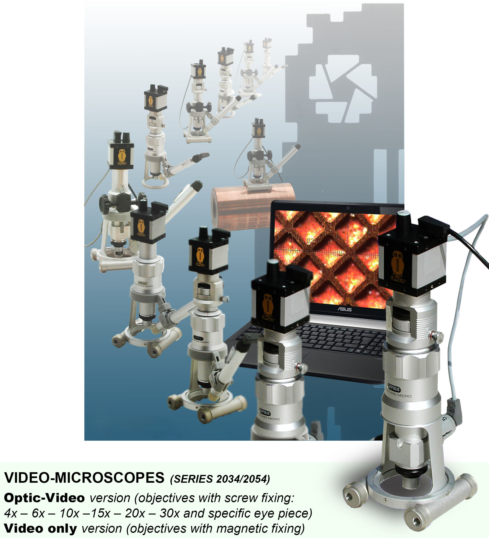 Micro Measure Video or Optic = Video Series 2034/2054