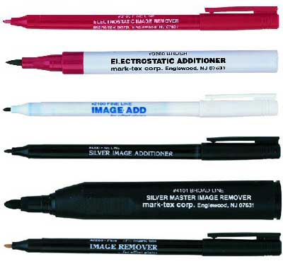 Mark-Tex Plate Correction Pens