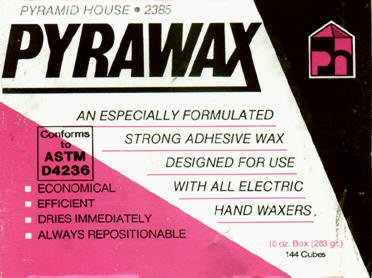 Pyrawax for all automatic waxers