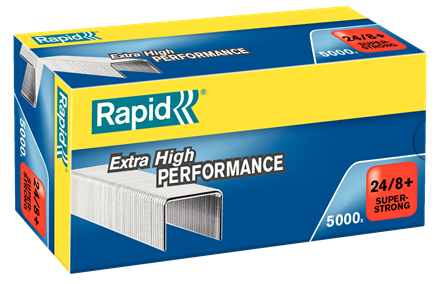 Rapid 24/8+ Staples - 5/16""