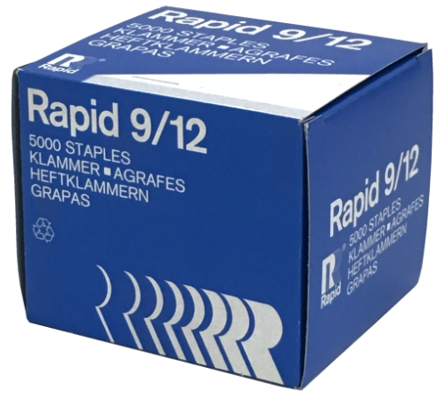 Rapid 9/49 Staples 1/2""