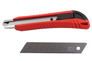 Premium Utility Knife with Snap-off Blade