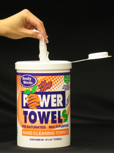 "Really Works Power Towels: 9"" x 12"" Purple Dual Textured"