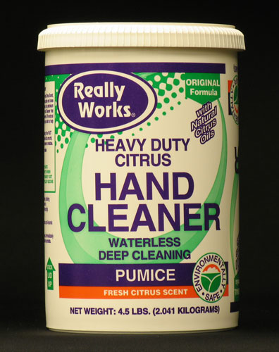 Really Works Hand Cleaner with Pumice: 4 1/2 lb.