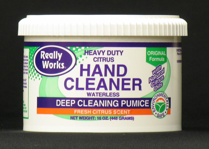 Really Works Hand Cleaner with Pumice: 16 oz