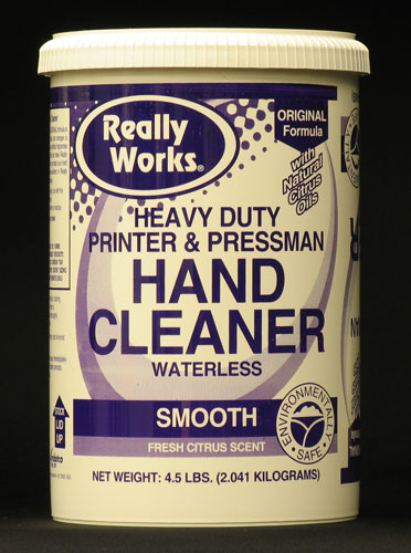 "Hand Cleaner ""Citrus Scent"", without Pumice: 4 1/2 lb."
