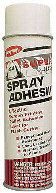 Sprayway #84 Super Flash Pallet Adhesive