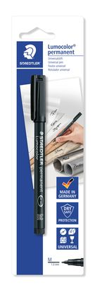 Staedtler Mars Lumocolor Marker #317-9 Black Medium