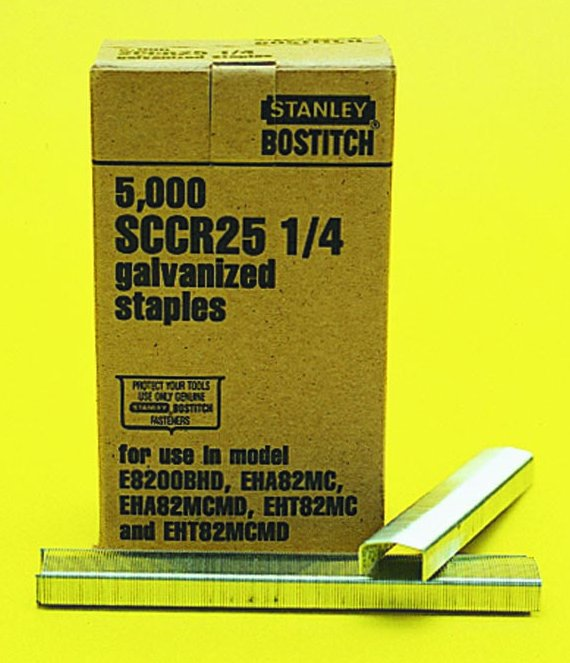 Stanley Bostitch SCCR25 Staples