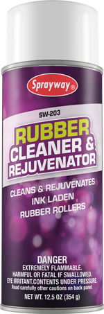 Sprayway #203 Rubber Cleaner & Rejuvenator