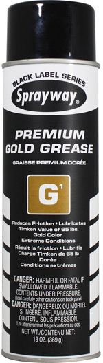 Sprayway #294 G1 Premium Gold Grease