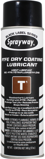 Sprayway #295 T1 TFE Dry Coating Lubricant & Release Agent