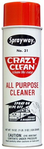 Sprayway #31 Crazy Clean All Purpose Cleaner
