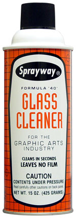 Sprayway #40 Formula '40' Glass Cleaner