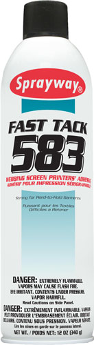 Sprayway #583 Fast Tack Premium Web Pallet Adhesive - CA Compliant