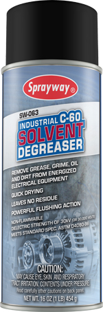 Sprayway #63 C-60 Solvent Degreaser