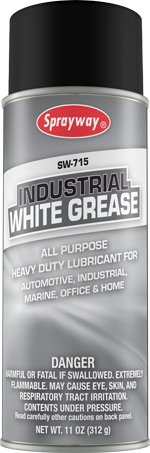 Sprayway #715 Industrial White Grease Lubricant