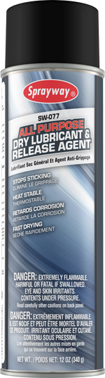 Sprayway #77 All Purpose Dry Lubricant & Release Agent