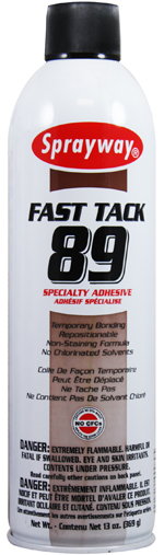 Sprayway #89 Fast Tack Specialty Adhesive