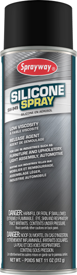 Sprayway #945 Silicone Spray