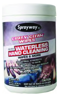 Sprayway #983 Crazy Clean Wipes