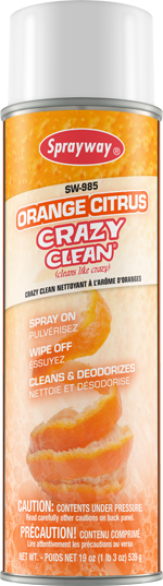 Sprayway #985 Orange Citrus Crazy Clean