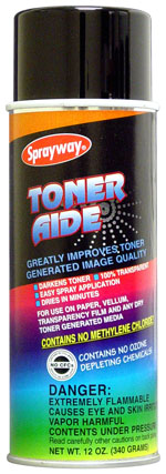 Sprayway #208 Toner Aide