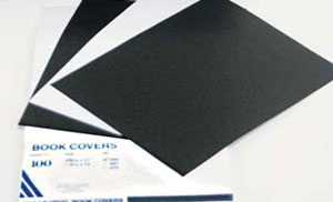 "Black Composition Covers (Leatherette) .010 8-1/2"" x 11"""